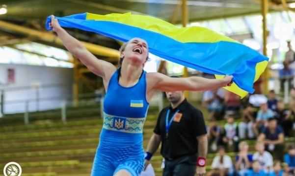 Украинка Акобия стала серебряной призеркой чемпионата Европы