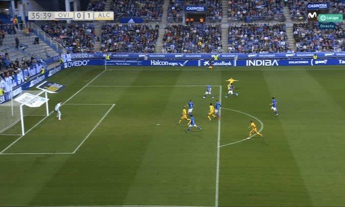 Лунин привез пенальти в ворота Овьедо в матче с командой Сергея Мякушко. ВИДЕО