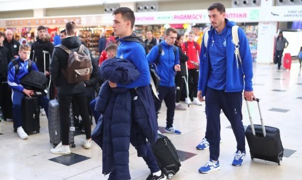 Динамо повернулося до Києва після другого збору в Туреччині