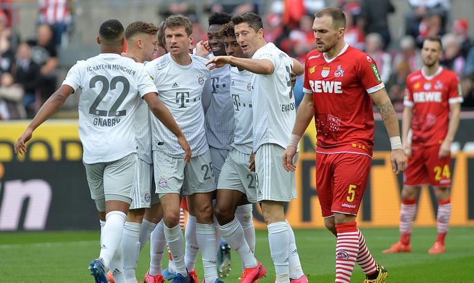 Бавария кельн видео футбол