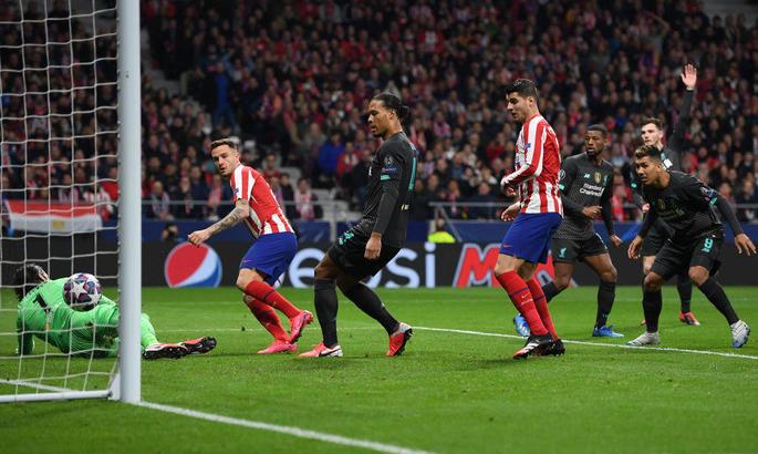Атлетико - Ливерпуль 1:0. Программа минимум