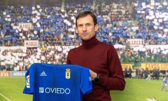 Реал Овьедо Лунина возглавил