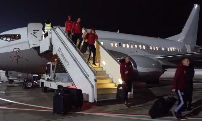 Бенфика прибыла в Харьков