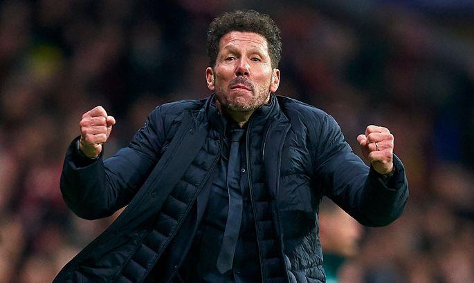 Симеоне – о победе над Ливерпулем: Играли в футбол, который позволит удержать результат