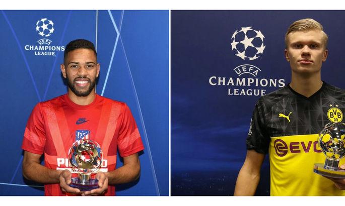 Холанд та Лоді – перші володарі нагороди Найкращому гравцеві матчу ЛЧ за версією УЄФА