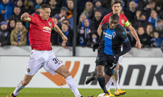 ЛЕ. Экс-форвард Зари забивает, но Брюгге не обыгрывает Манчестер Юнайтед