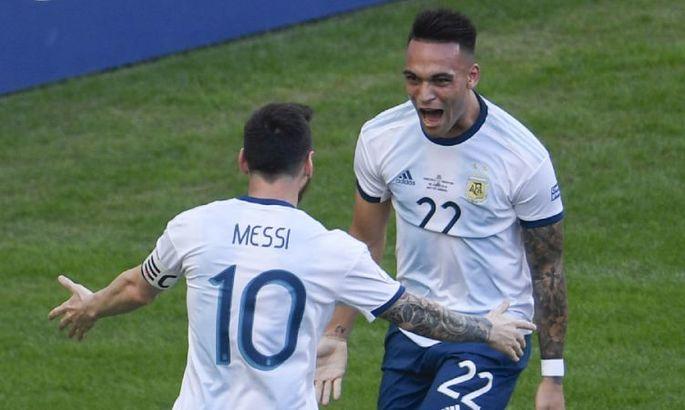 Месси: Мне кажется, что Лаутаро смог бы заиграть в Барселоне