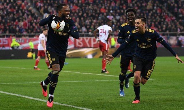Олимпиакос - Арсенал 0:1. Видео гола и обзор матча