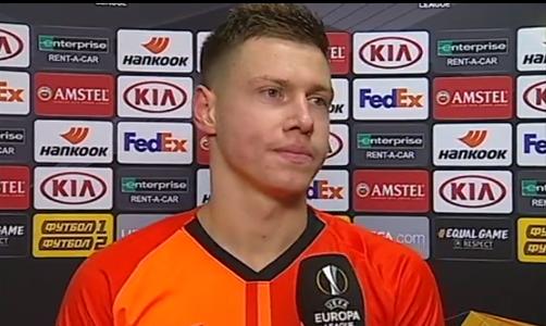 Матвиенко рассказал, как арбитр объяснил игрокам Шахтера назначение пенальти