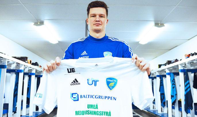 Шведский клуб подписал 21-летнего украинца
