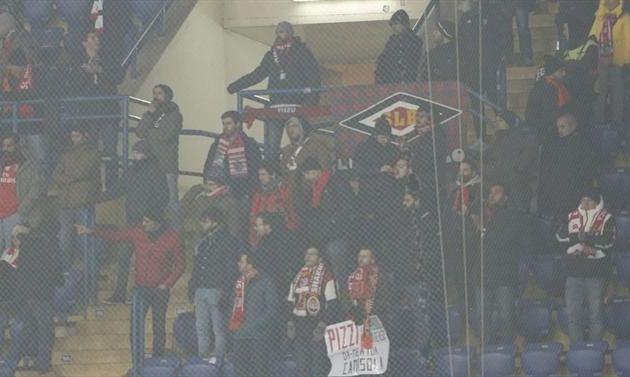 Фанаты Шахтера атаковали болельщиков Бенфики - СМИ