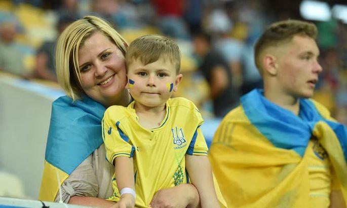 На домашних матчах сборной Украины появятся бесплатные семейные сектора