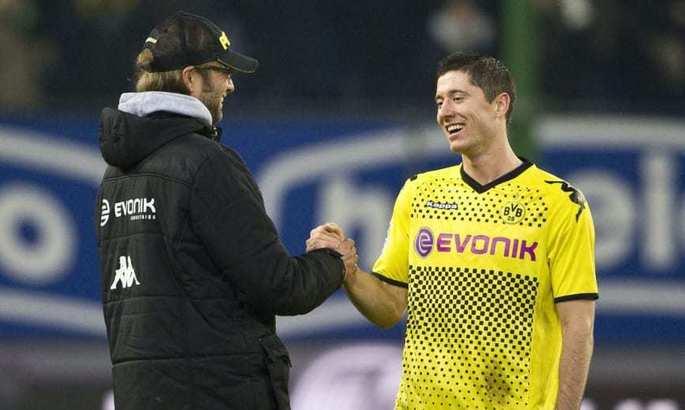Левандовскі: Клопп платив мені по 50 євро за кожні 10 голів на тренуванні. Однак дуже швидко перестав