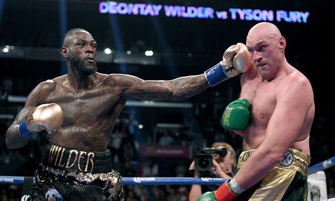 Деонтей Уайлдер - Тайсон Фьюри: Текстовая онлайн-трансляция боя за титул WBC. Как это было