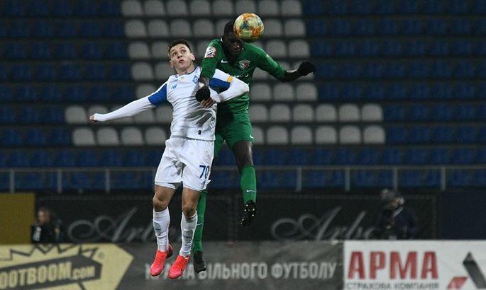 Динамо - Ворскла 2:1. Спаслись