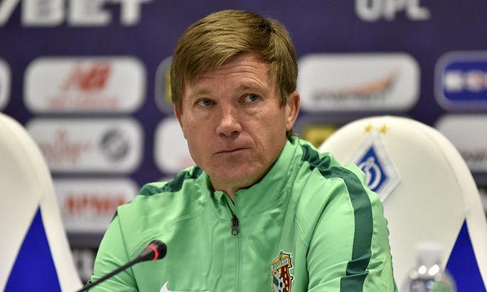 Юрій Максимов: Те, що ми могли, ми сьогодні показали. Ворскла поступалася в майстерності Динамо
