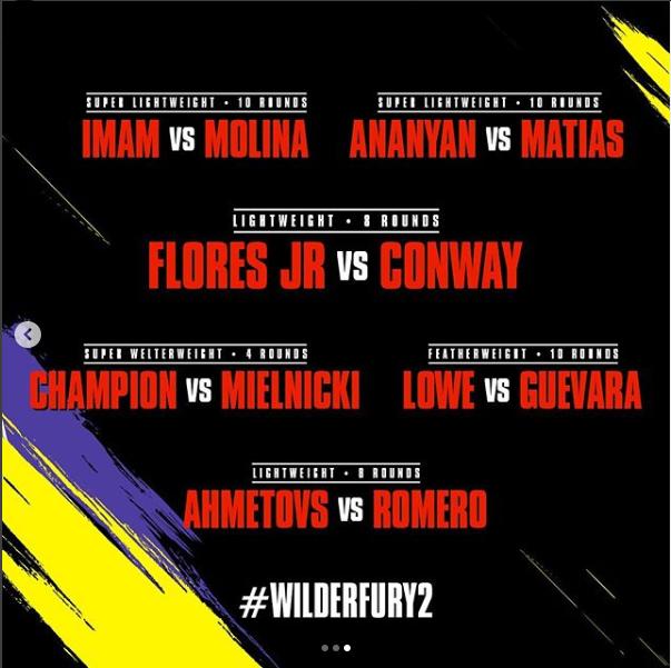 Деонтей Уайлдер - Тайсон Фьюри: Текстовая онлайн-трансляция боя за титул WBC. Как это было - изображение 8