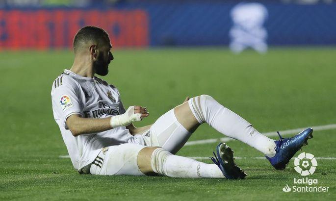 Бензема не поможет своей команде в матче с Интером