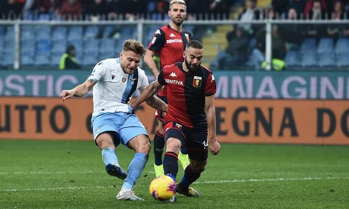 Иммобиле повторил рекорд результативности Серии А, забив 27 голов в 25 турах