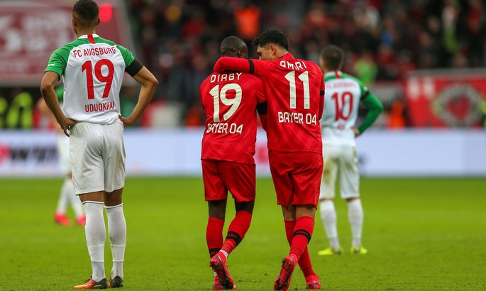 Бундеслига. Байер подбирается к Лиге чемпионов, Вольфсбург - к Лиге Европы