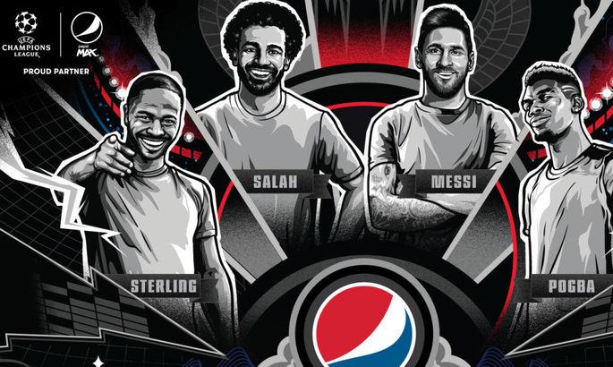 Месси, Погба, Стерлинг и Салах крадут у друг друга газировку в новой рекламе Pepsi
