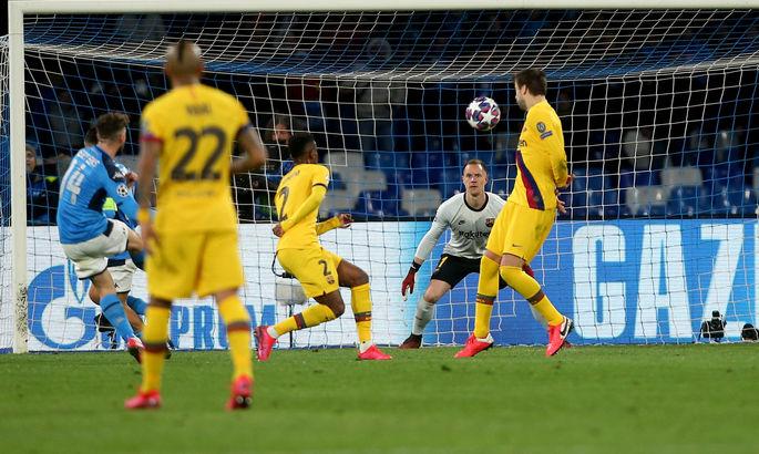 УЕФА собирается перенести матч Барселона - Наполи в Португалию
