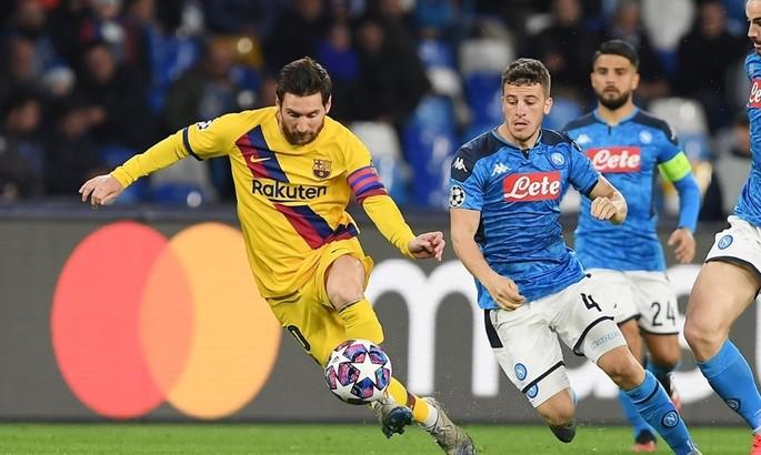 Наполі - Барселона 1:1. Задовольнятися малим