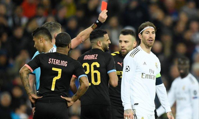 Реал обжалует красную карточку Рамоса