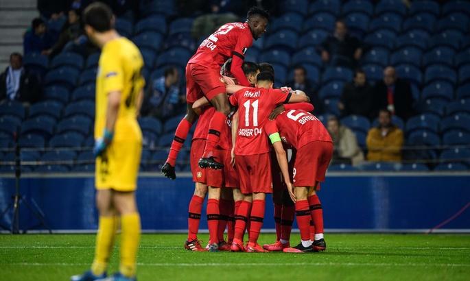 Порту безвольно проиграл Байеру в домашнем матче и вылетел из Лиги Европы
