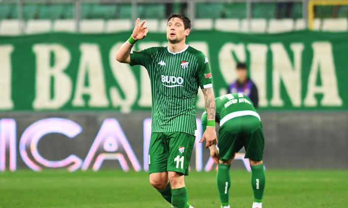 Селезньов забив за Бурсаспор свій 6-й гол в останніх 8-ми матчах