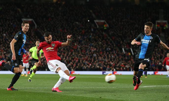 Ліга Європи. Манчестер Юнайтед знущається над Брюгге