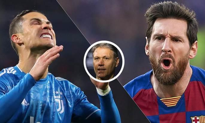 Ван Бастен: Той, хто говорить, що Роналду краще Мессі, нічого не розуміє у футболі