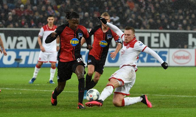 Бундеслига. Герта отыгралась с 0:3 в матче с Фортуной