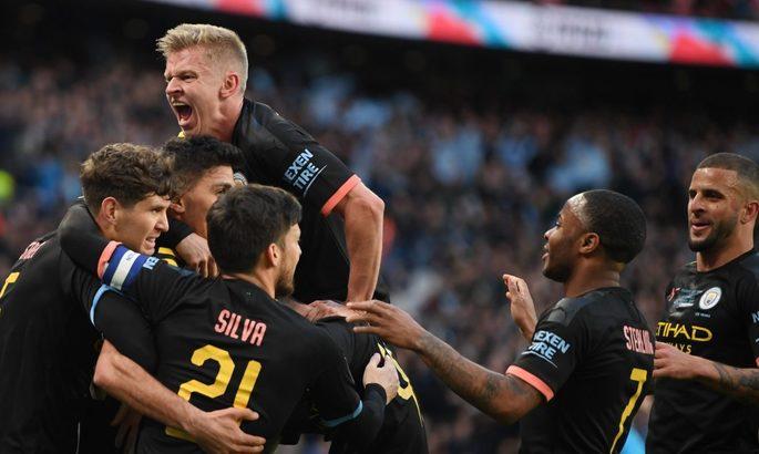 Кубок лиги. Финал. Астон Вилла - Манчестер Сити 1:2. Первый трофей горожан в сезоне