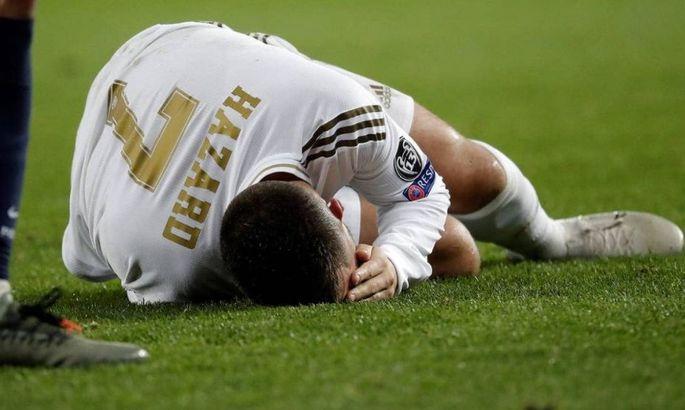 Азар снова получил травму и пропустит около месяца ᐉ UA-Футбол
