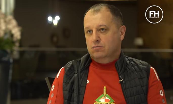 Ромб Вернидуба. У Білорусі дивуються новій тактиці українського тренера