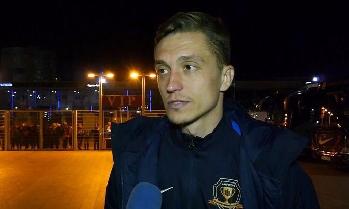 Захисник Дніпра-1 Шаповал: Рівень Шахтаря вищий за Динамо