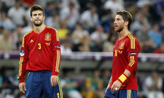 Пике, Рамос и Альба попали в расширенную заявку олимпийской сборной Испании