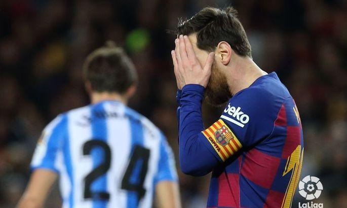 Прімера. 27-й тур. Барселона - Реал Сосьєдад 1:0. VAR на поміч, але не всім