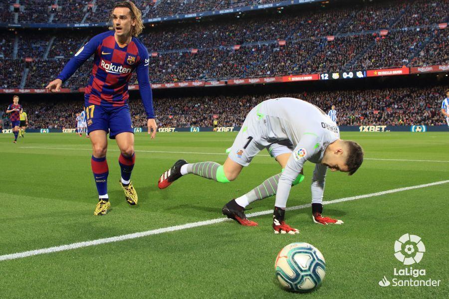 Прімера. 27-й тур. Барселона - Реал Сосьєдад 1:0. VAR на поміч, але не всім - изображение 2