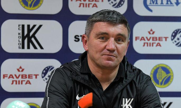 Руслан Костишин: Відчуття, що в матчі із Зорею ми могли більше