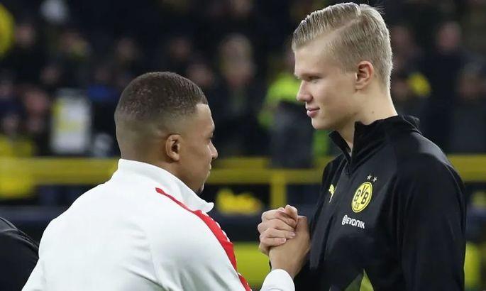 Холанд: Мбаппе? Килиан – фантастический футболист. Такие рекорды в его возрасте – это безумие