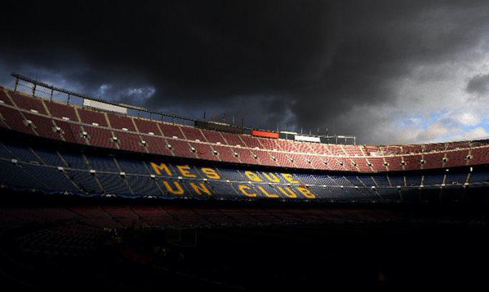 Официально: матч Барселона – Наполи пройдет без зрителей
