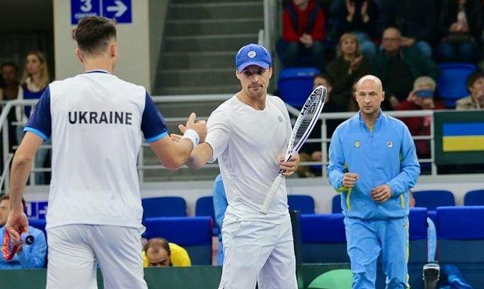 Украина опустилась в рейтинге Кубка Дэвиса