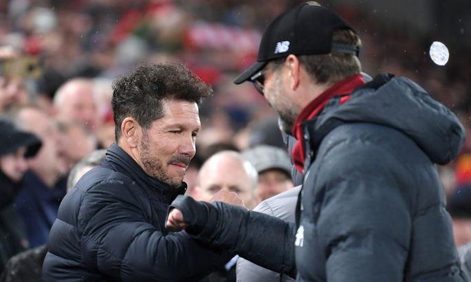 Клопп считает проведение ответного матча с Атлетико в ЛЧ