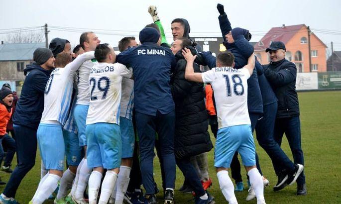 Кополовець: Минай хоче потрапити в єврокубки через Кубок України
