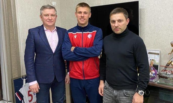 Экс-игрок Черноморца подписал контракт с клубом из Беларуси