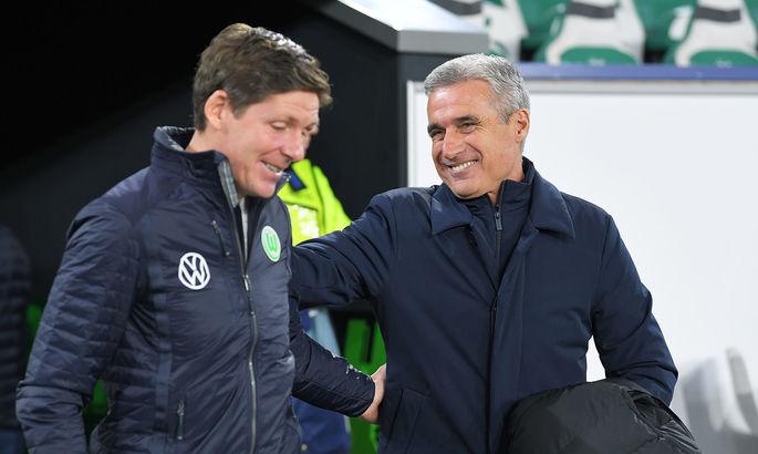 Коуч Вольфсбурга считает несправедливым итог матча с Шахтером