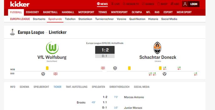 Этого не должно было произойти. Обзор немецкой прессы после матча Вольфсбург - Шахтер - изображение 2