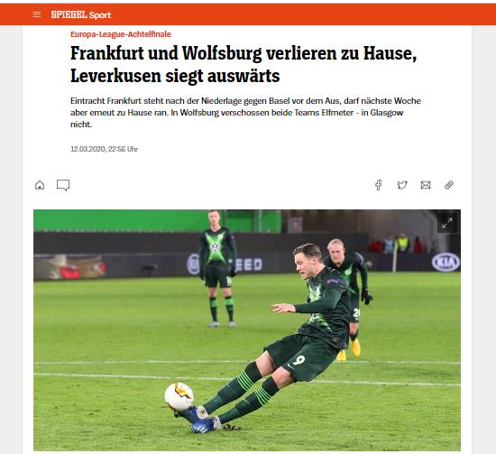 Этого не должно было произойти. Обзор немецкой прессы после матча Вольфсбург - Шахтер - изображение 3